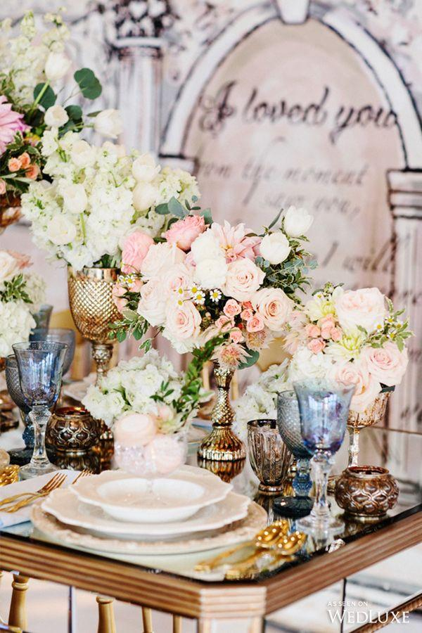Свадьба - Pastel-Hued Parisian Romance- Wedding Inspiration
