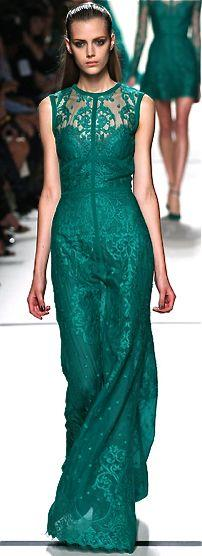 Свадьба - Show-Stopping Ethereal Fashions : Elie Saab Spring Summer 2014