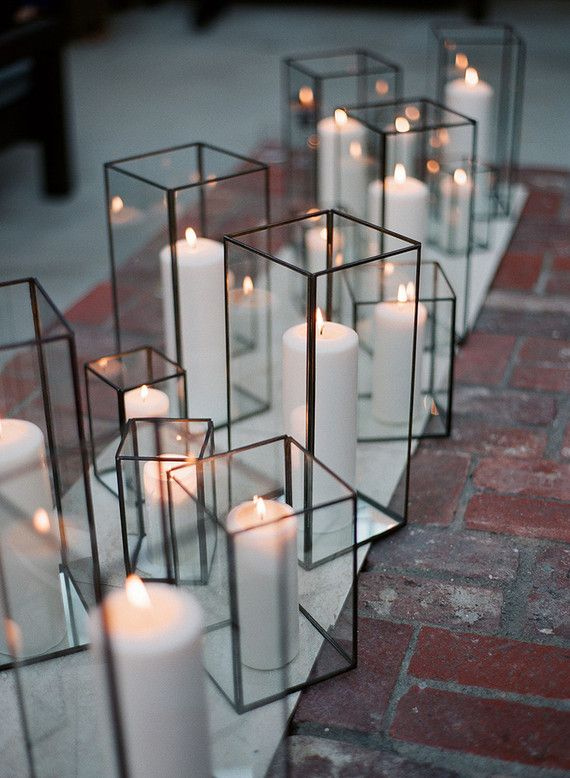 Wedding Theme Modern Candle Holders 2552740 Weddbook