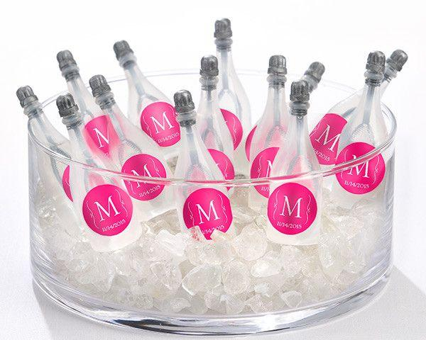 Mariage - Personalized Wedding Bubbles Favor
