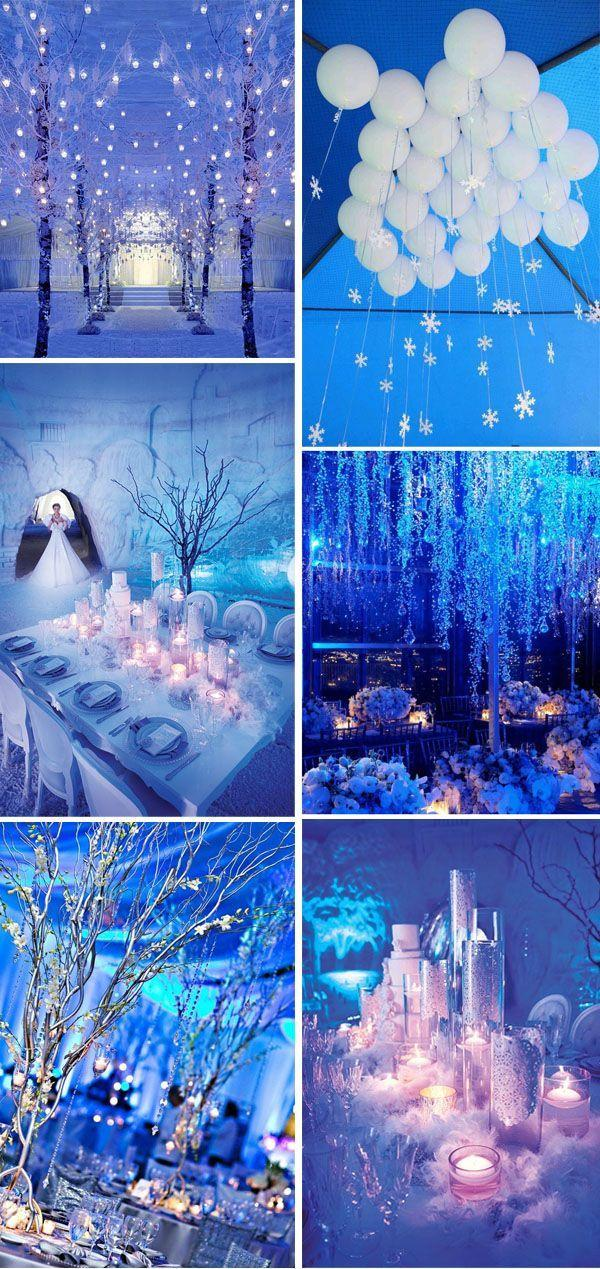 Свадьба - 35 Breathtaking Winter Wonderland Inspired Wedding Ideas