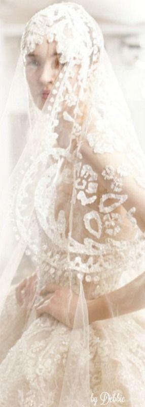 Свадьба - Elie Saab ~ Debbie ❤