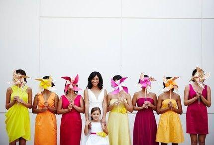 Hochzeit - Wedding Pinwheels by Rule42 - custom designed for you