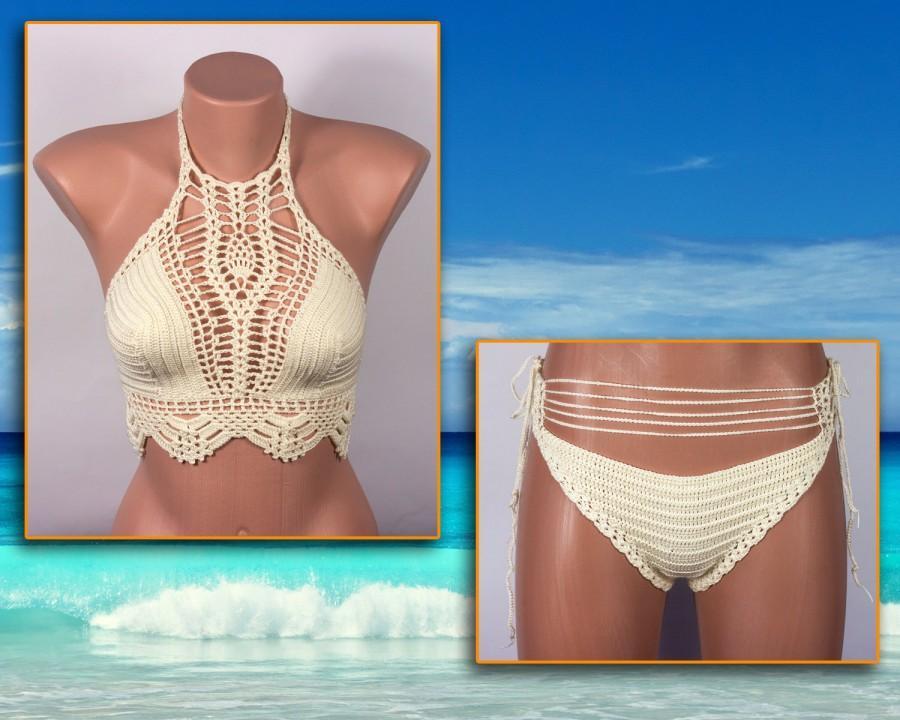 Mariage - Crochet bikini, Women Swimsuit, Summer trends, LoveKnittings