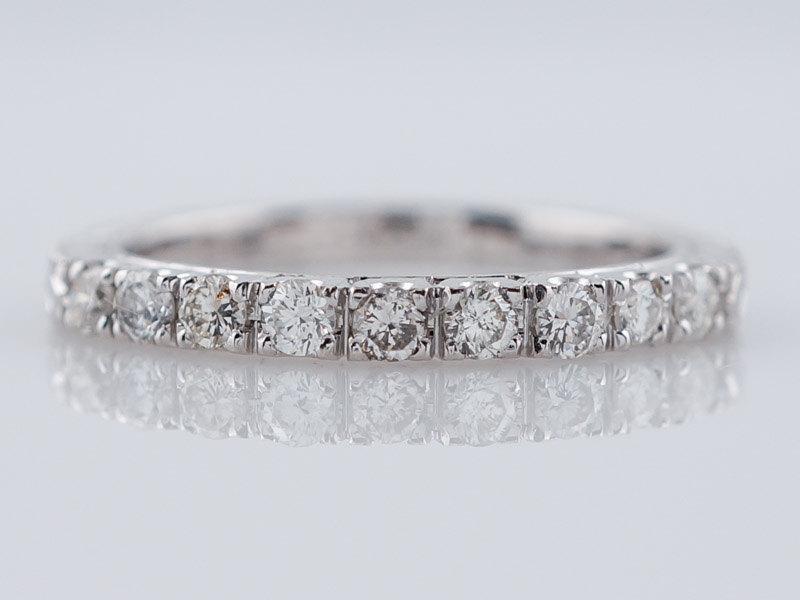 Mariage - Wedding Band Modern .32 cttw Round Brilliant Diamonds in 14k White Gold