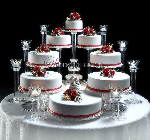 8 tier cascading wedding cake stand stands 8 tier candle stand set 2553469 weddbook. Black Bedroom Furniture Sets. Home Design Ideas
