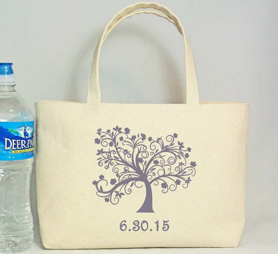 welcome bag set of 20 tree of life wedding welcome tote hotel guest