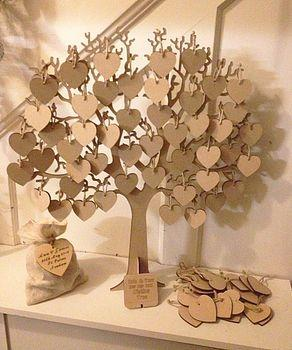 Wedding - Wishing Tree Large Wooden Guest Book