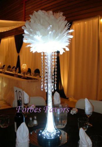 Свадьба - 24 Hanging Crystal Garland with Crystal Pendant wedding centerpiece decoration