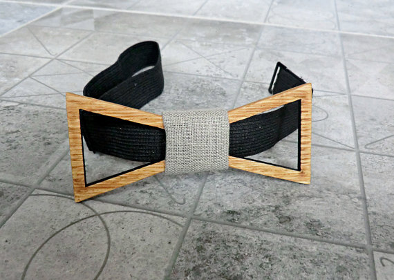 Wood Bow Tie Men Groomsmen Gift Valentines Gifts For Him Wedding Mens Wooden Groom Boyfriend Fathers Day