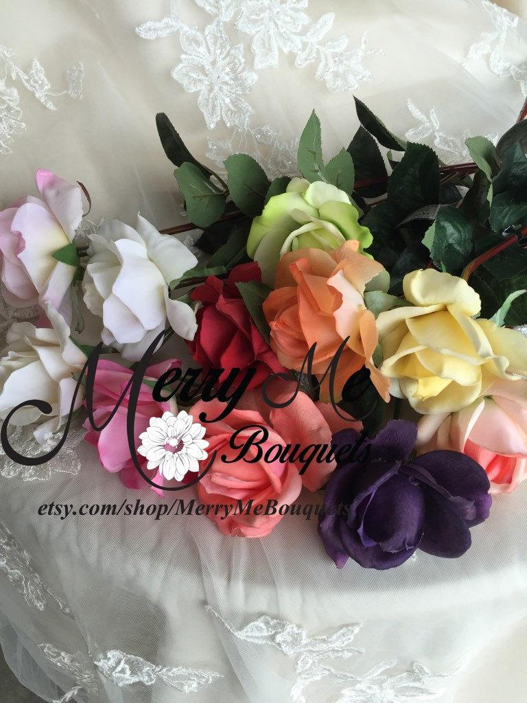 True Touch Roses Real Touch Roses High Quality Roses Silk