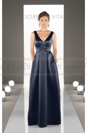 Свадьба - Sorella Vita Floor Length Bridesmaid Dress Style 8721