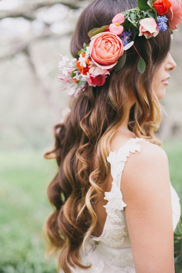 Hochzeit - Flower Cown