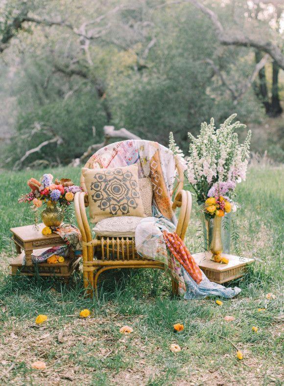 زفاف - Bohemian Bridesmaid Inspiration
