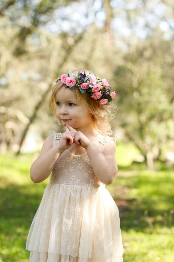 Baby Flower Crown Headband 0d5f5b86b0e