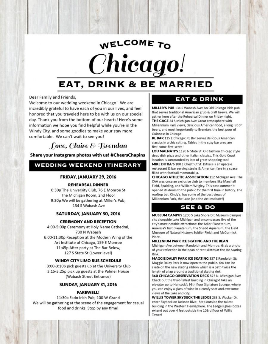 welcome letter wedding welcome letter hotel welcome letter wedding weekend itinerary destination wedding welcome letter chicago wedding