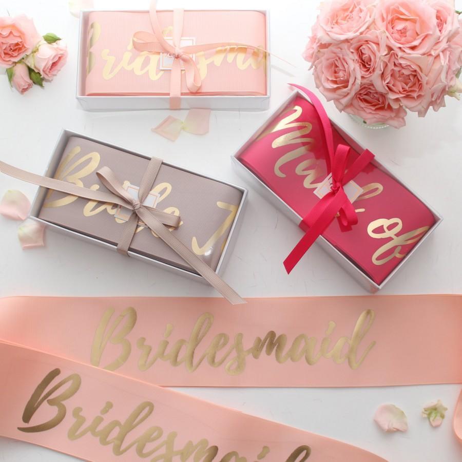 Wedding - Custom Hens Party Sashes