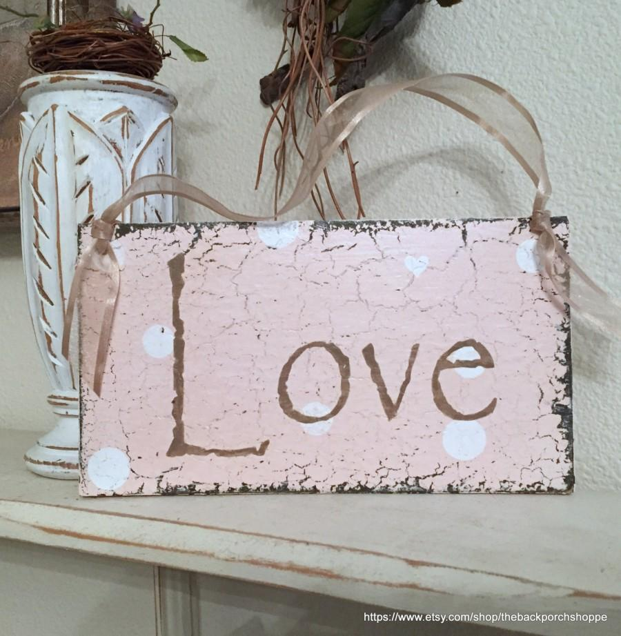 Ready To Ship Love Sign Sign For Candy Bar Love Wedding Signs 9