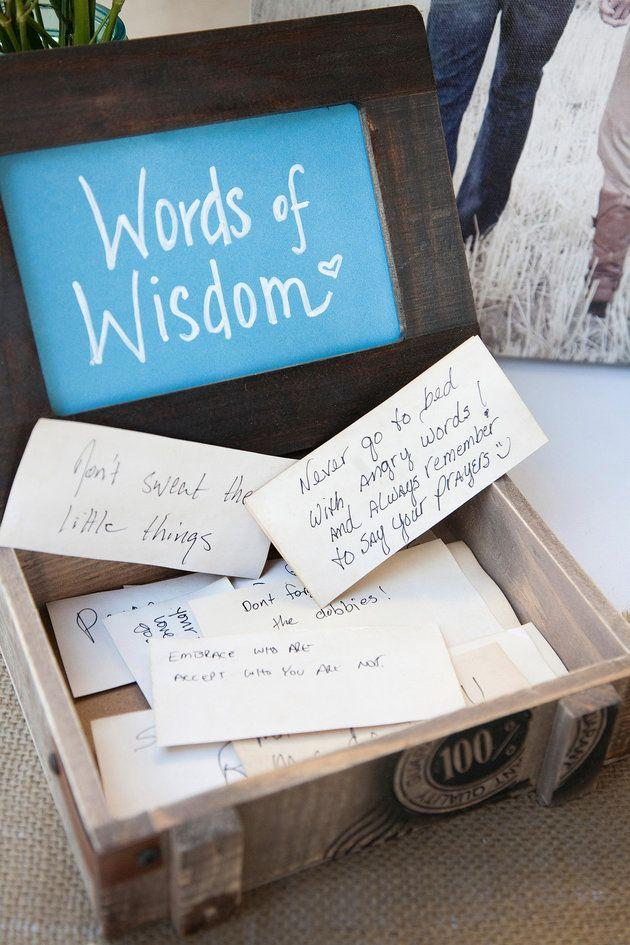 Wedding - 16 Creative Alternatives To The Boring Old Wedding Guest Book
