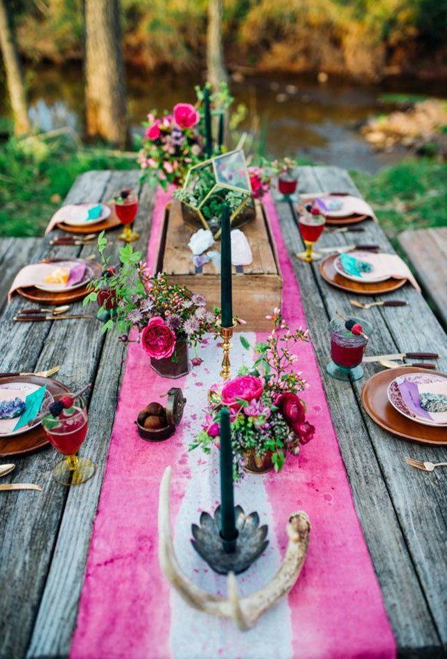 Mariage - 15 Unique Wedding Tablescapes That Take The Cake