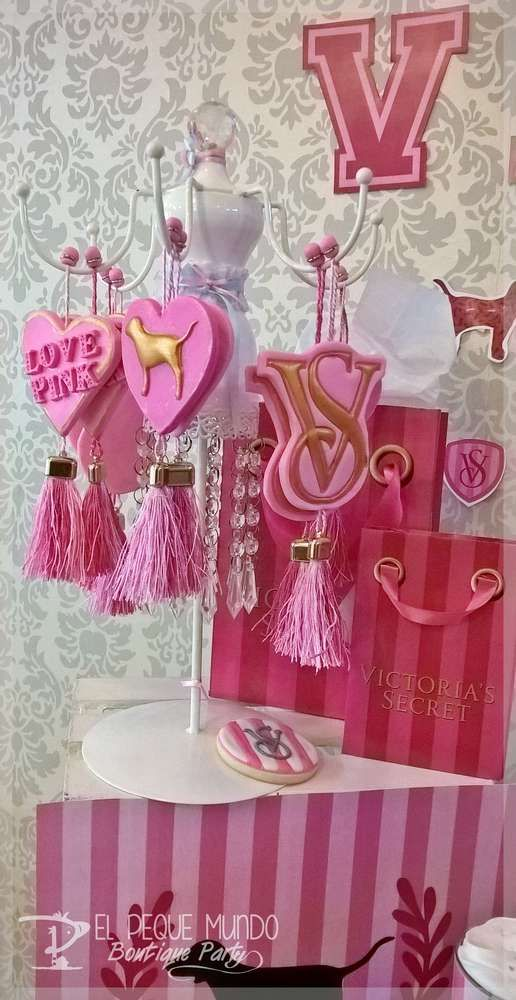 Wedding Theme - Victoria Secret Birthday Party Ideas ...