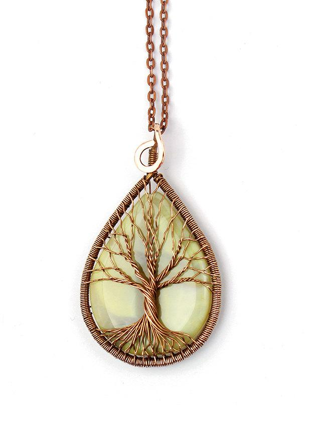 Tree-Of-Life Pendant Necklace Tree-Of-Life Jewelry Family Tree ...