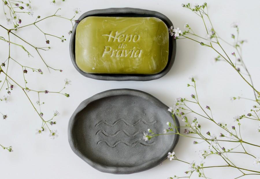Hochzeit - Pottery soap dish,ceramic soap dish,hand built pottery soap dish set of 2