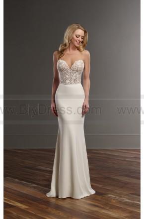 Hochzeit - Martina Liana Glamorous Lace Wedding Separates Style Bryce   Sanja