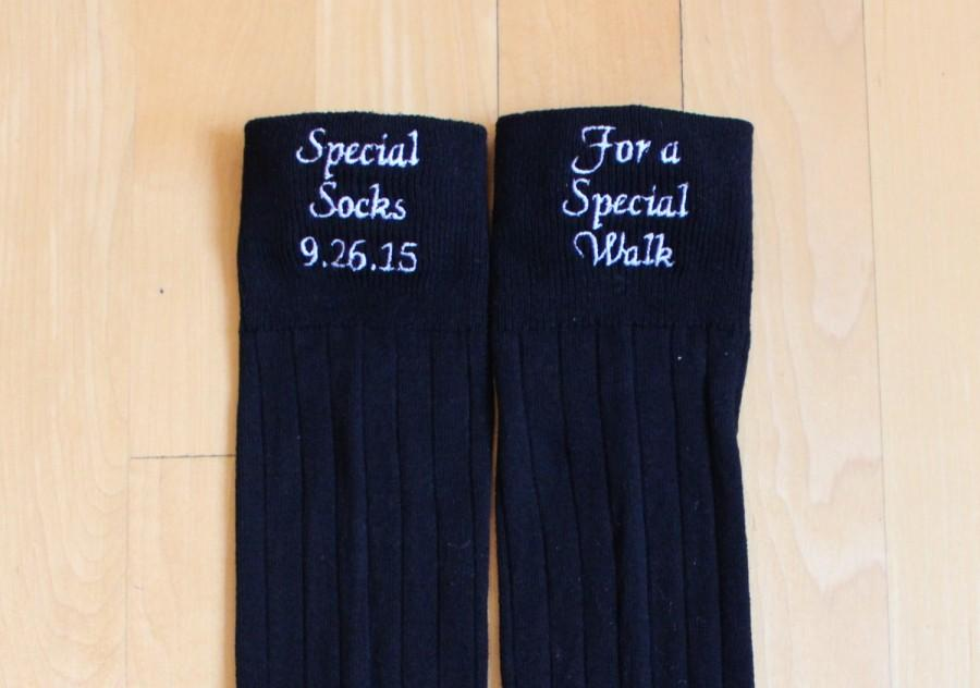Father Of Bride Socks-Special Socks For A Special Walk. Dad Wedding ...