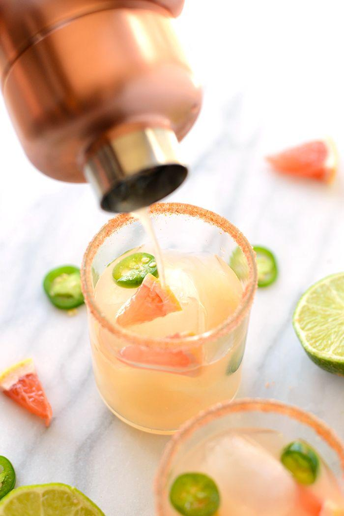 Wedding - Spicy Grapefruit Margaritas