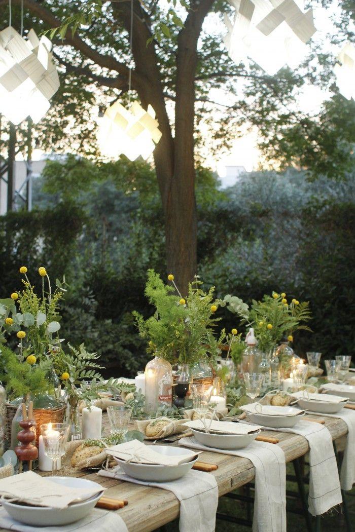 زفاف - Gorgeous Wedding Garden Decor
