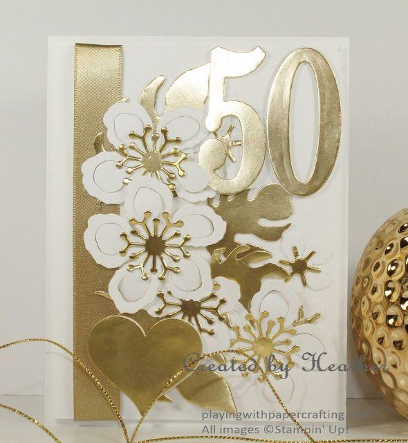 Hochzeit - Botanical Golden Anniversary