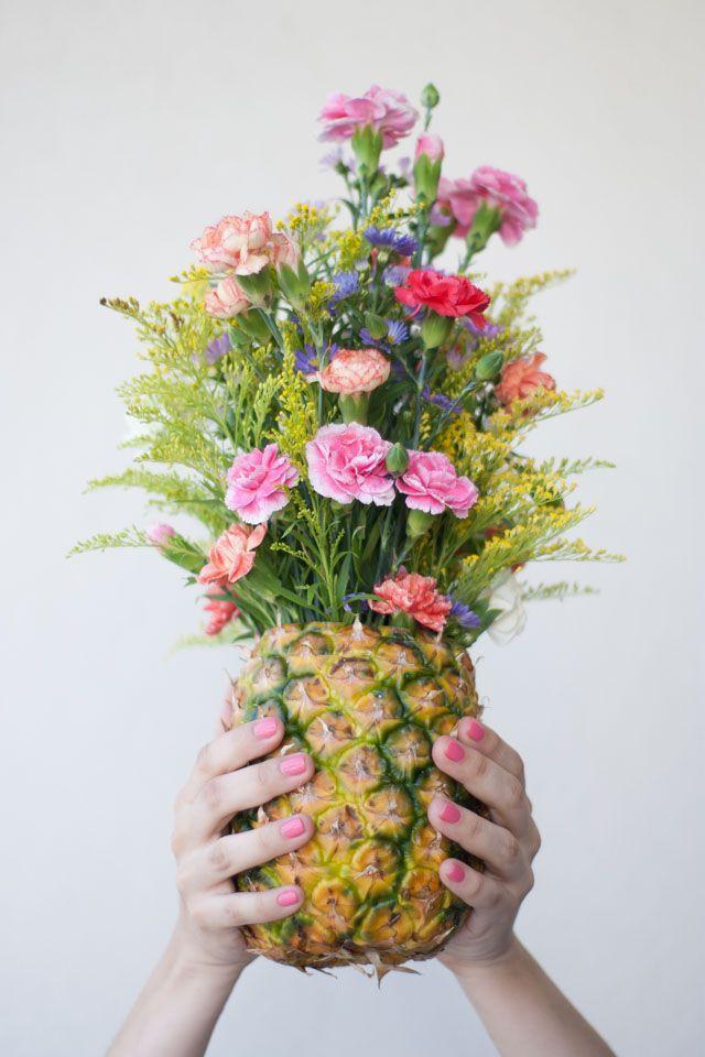 Hochzeit - DIY Ideas: 2 Opciones Para Decorar Con Flores Naturales