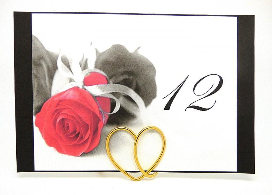 زفاف - Wedding Table Number Stand, Table Number Holder, Gold Place Card Stand, Silver Table Number Holder, Copper Heart Stands, Wedding Hearts