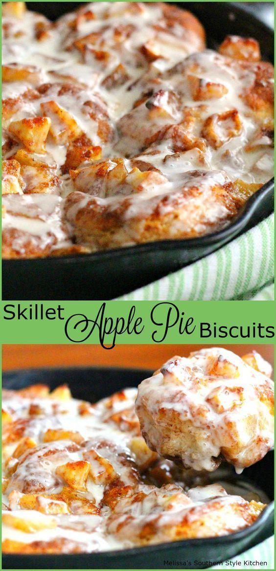 Свадьба - Skillet Apple Pie Biscuits