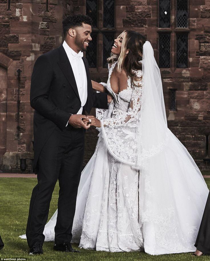 Картинки по запросу Russell Wilson and Ciara wedding