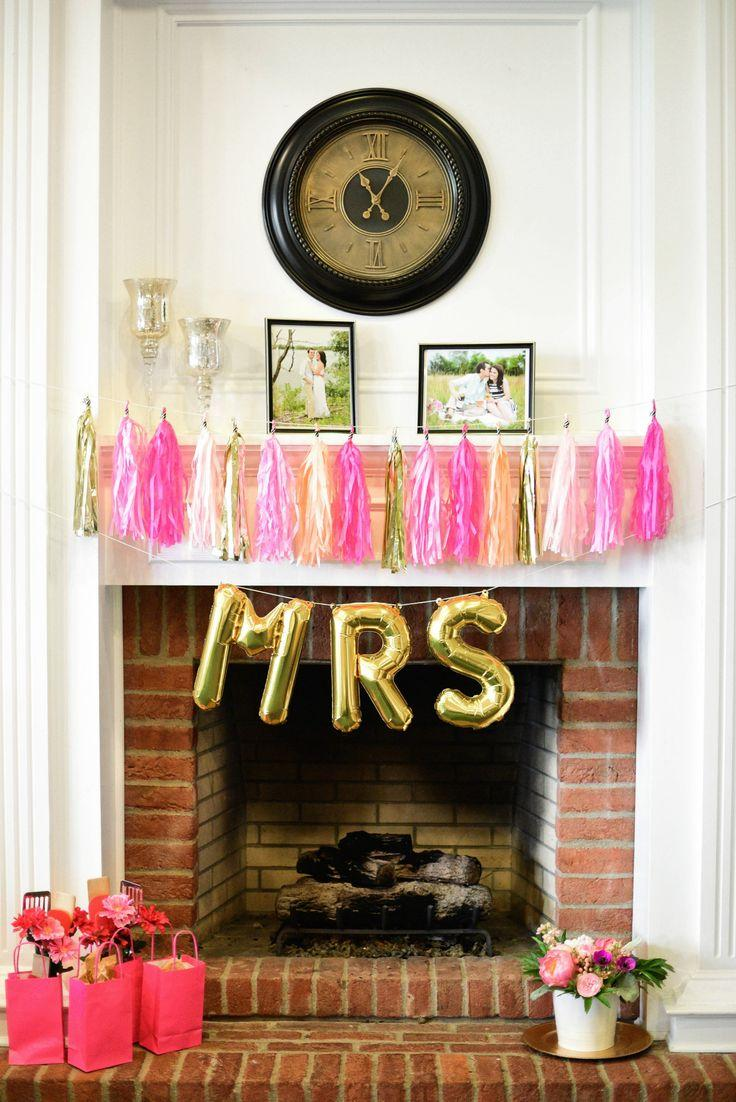 a cheerful kate spade bridal shower
