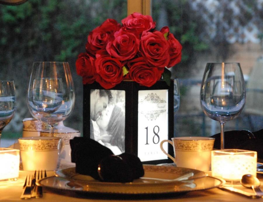 Diy Wedding Picture Frame Centerpieces Easy Craft Ideas