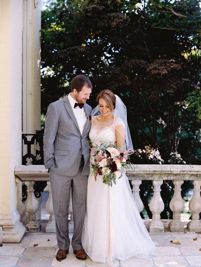 Mariage - Caitlin's Wedding In BRIDES Magazine