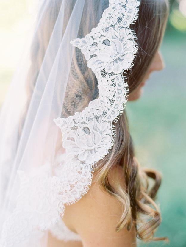 Wedding - Beautiful Lace Veil