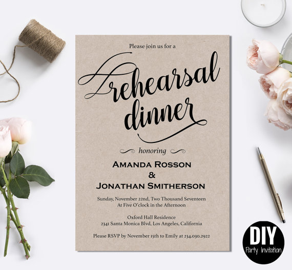 wedding rehearsal dinners essay The etiquette of wedding rehearsal dinners choose a slide from picking a location to deciding upon the guest list, here are our tips for planning a rehearsal dinner.