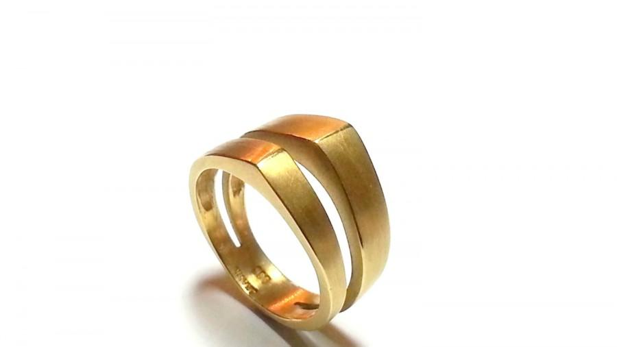 Unique Womens Wedding Band Wedding Ring Promise Ring Gold Band