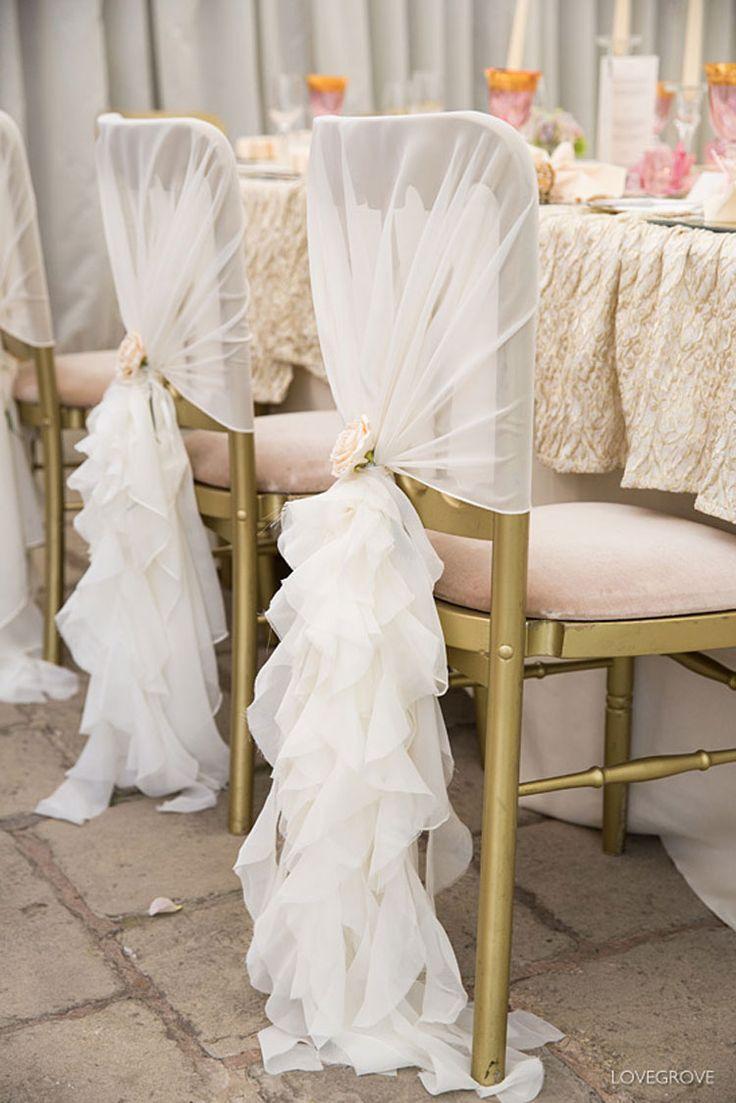 Mariage - Ruffle Chair Covers