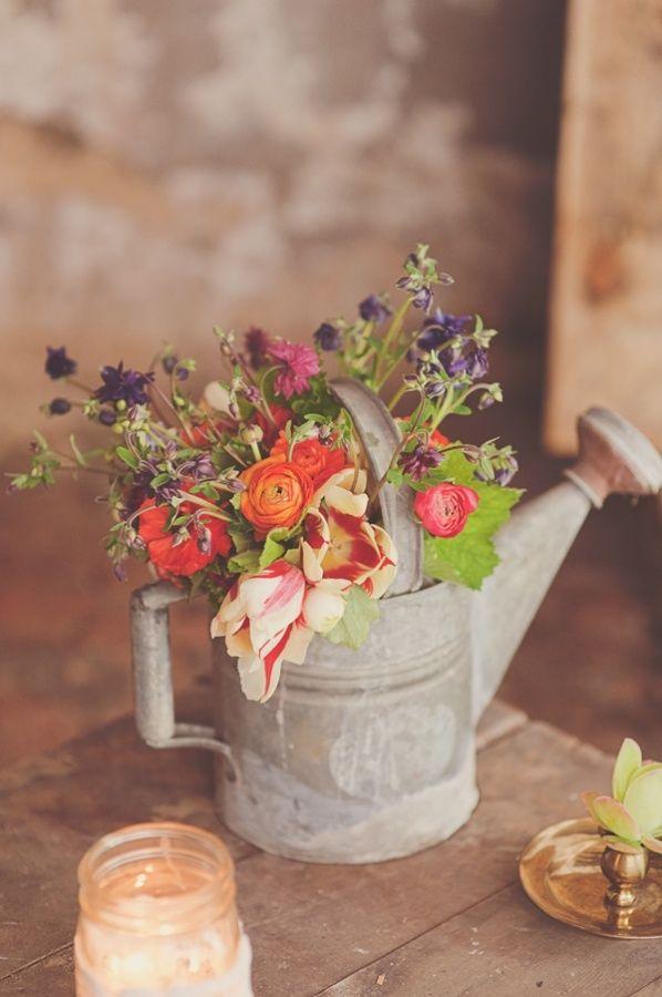 Wedding Theme Floral Water Can 2556705 Weddbook