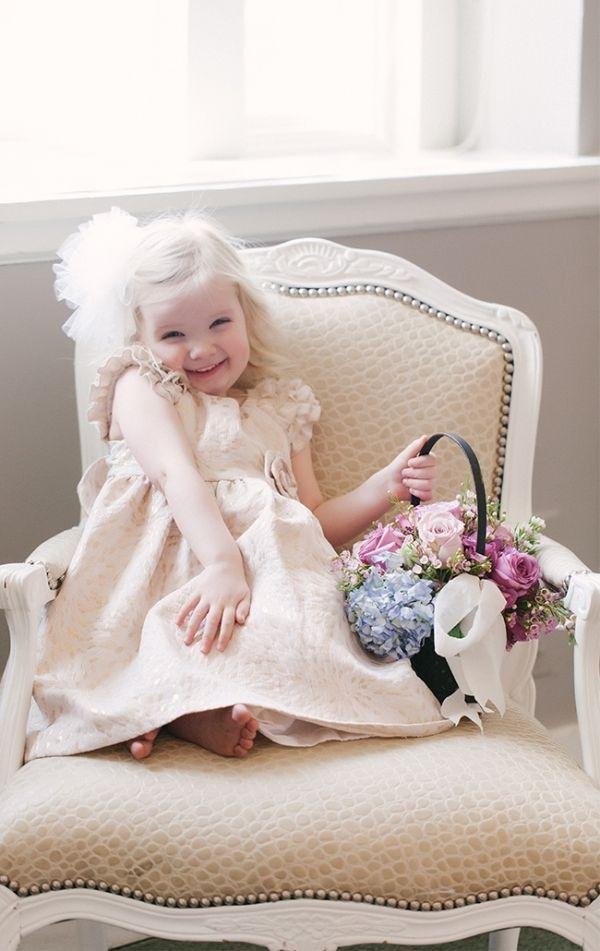 Wedding - 15 Flower Girl Styles That Are Oh So Cute!