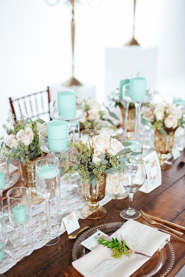 Mint Green Wedding Decoration