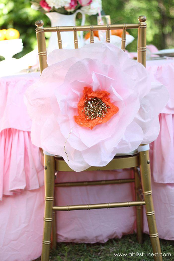 Wedding - DIY Paper Flower Backdrop Tutorials