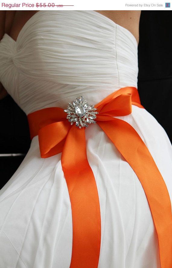 Bridal Sash, Bridal Belt, Crystal Sash, Ribbon Sash, Bridal Jewelry ...