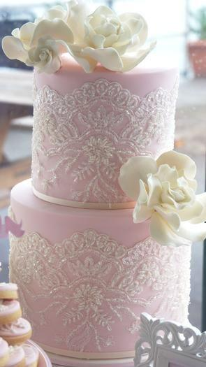 Mariage - Hostess With The Mostess® - Vintage Lace Chistening