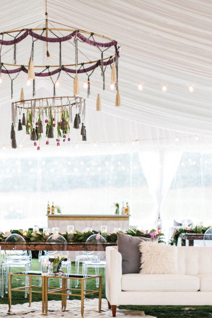 Mariage - Purple, Gold, And Boho Glam. See The Wedding That Pulled It Off!